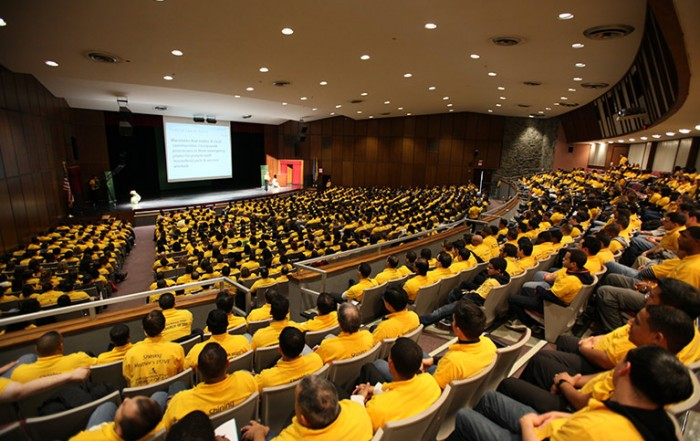 1200 trained as first responders 2013, world mission society church of god, cert training, yellow shirts