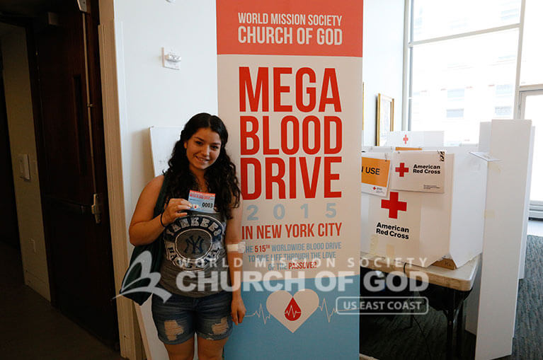World Mission Society Church of God, WMSCOG, Mega Blood Drive 2015, New York City, NYC, New York Blood Center, Red Cross, NYU, Blood Donation, Blood Donor, Blood Recruitment