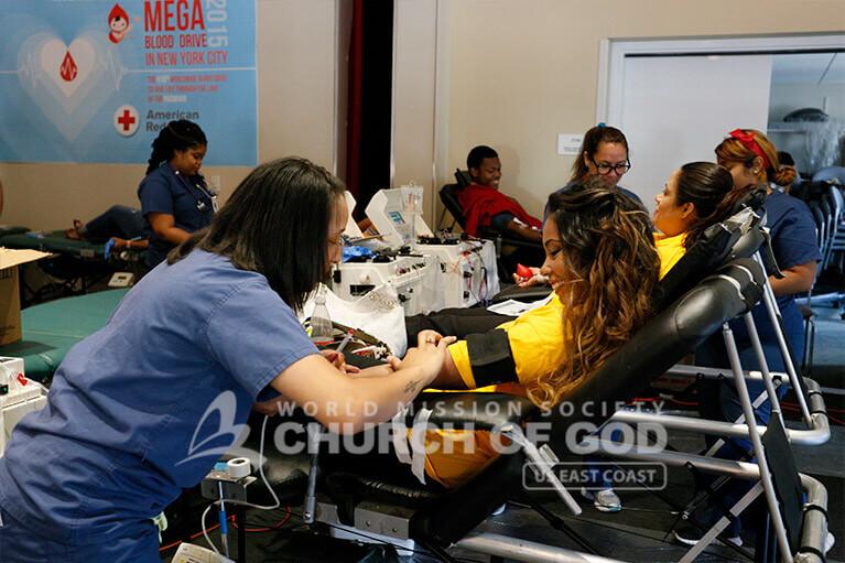 World Mission Society Church of God, WMSCOG, Mega Blood Drive 2015, New York City, NYC, New York Blood Center, Red Cross, NYU, Blood Donation, Blood Donor, Blood Recruitment