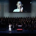jubilee, 50th anniversary, World Mission Society Church of God, WMSCOG, Church of God, Mother's love, global harmony, key to harmony, orchestra, strings, amazing grace, dancing, NJPAC, violin solo, music with Mothers love
