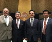 Church of God attends the United Nations CERF