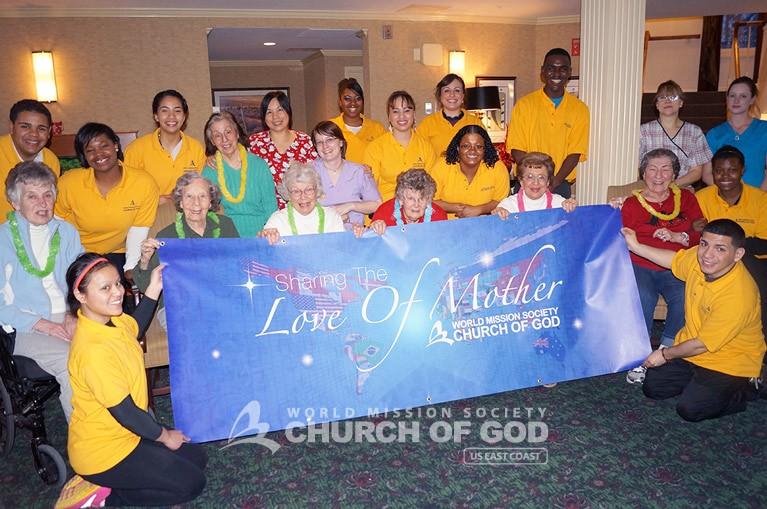 Senior Residents Encouraging Event, Church of god in hudson