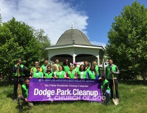 Dodge Park Cleanup