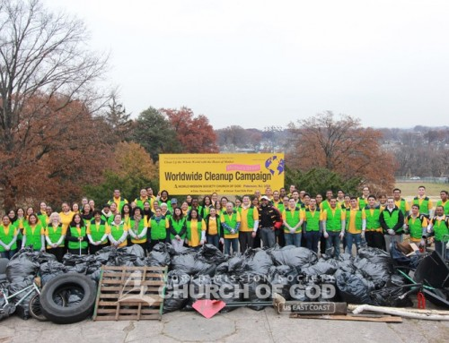 """""""Mother's Street"""" Cleanup Campaign"""