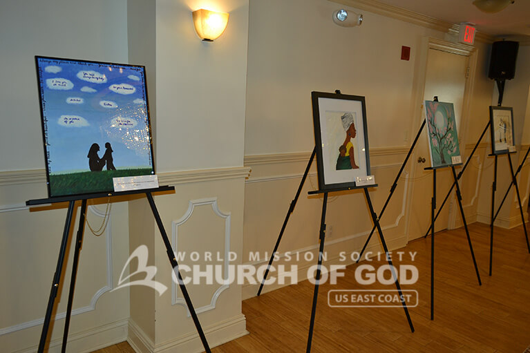 World Mission Society Church of God, WMSCOG, Mother's Love Art Exhibition, God the Mother, God of Mother, Manhattan, New York, NYC