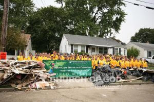 World Mission Society Church of God Pompton Lakes Flood Cleanup 03