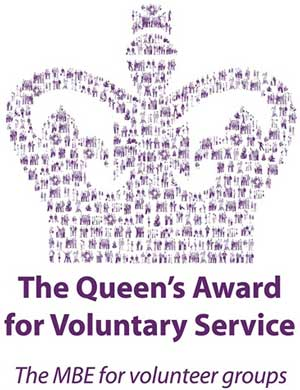 Queens Award logo on World Mission Society Church of God page