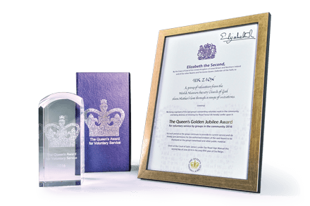 Church of God Receives the Queen's Award for Voluntary Service