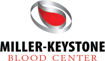 miller keystone blood center logo for World Mission Society Church of God Mega Blood Drive 2019 page