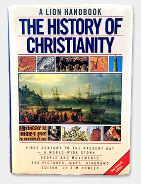 Image of History of Christianity book for World Mission Society Church of God Sabbath Day page