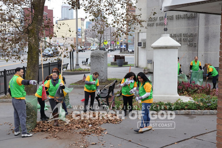 World Mission Society Church of God, WMSCOG, Mother's Street, cleanup, movement, mother, campaign, volunteerism, unity, global, world, New York, New Jersey, NJ, NY, East Coast