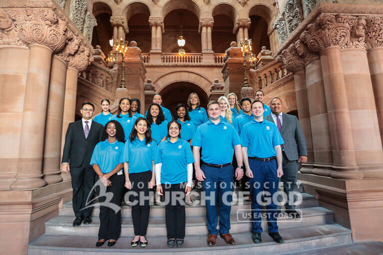 ASEZ volunteers at the New York State Capitol in Albany