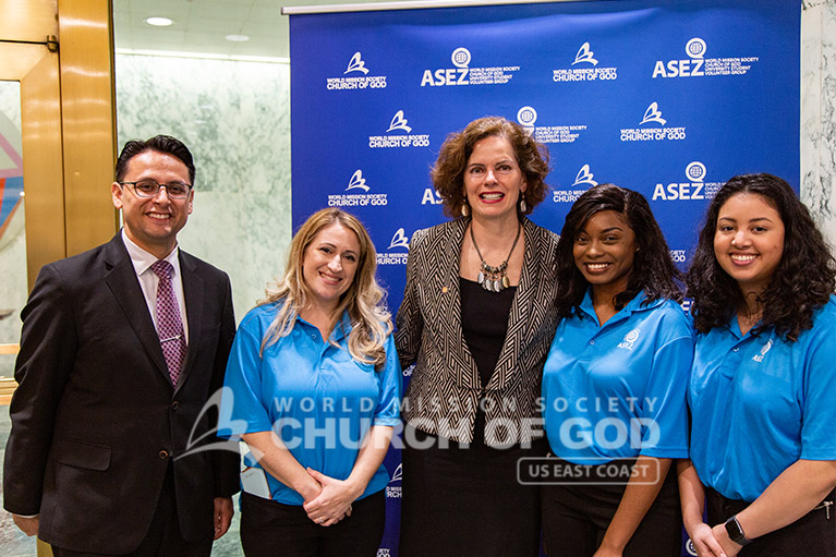 ASEZ volunteers with NY State Assemblywoman Patricia Fahy