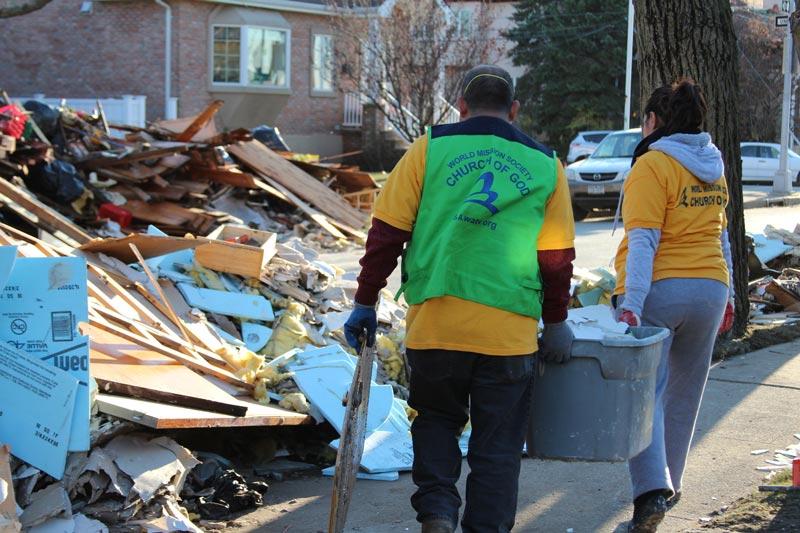 activities disaster relief