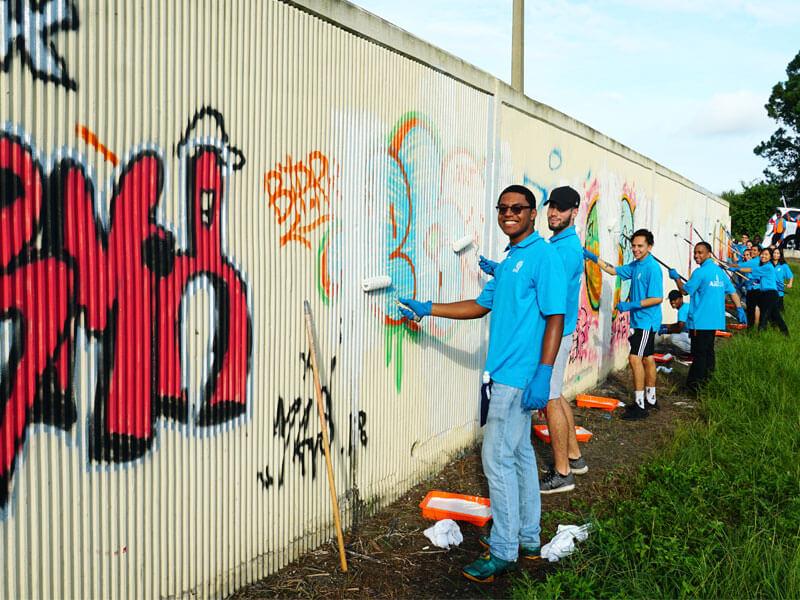 asez graffiti removal orlando